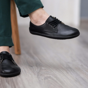 Be Lenka City Black barefoot shoe
