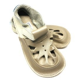 baby bare summer gold barefoot sandals for kids