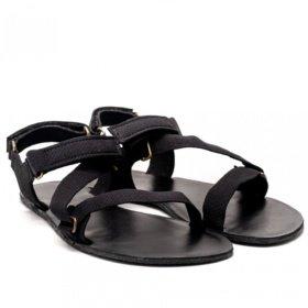 Be Lenka Flexi Black barefoot sandals
