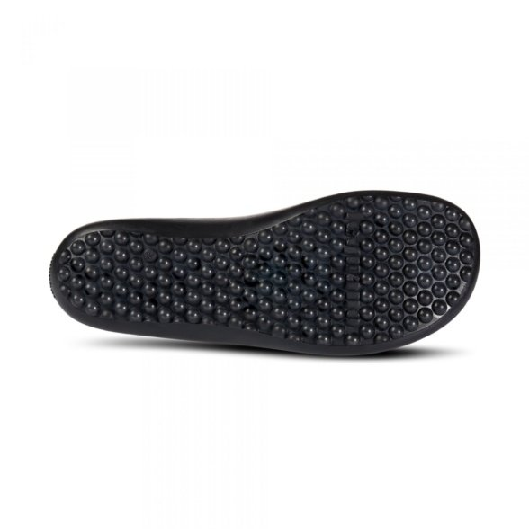 leguano scio black slip-on shoes