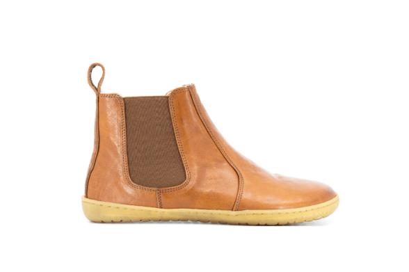 Mukishoes Chelsea Caramel ankle boots