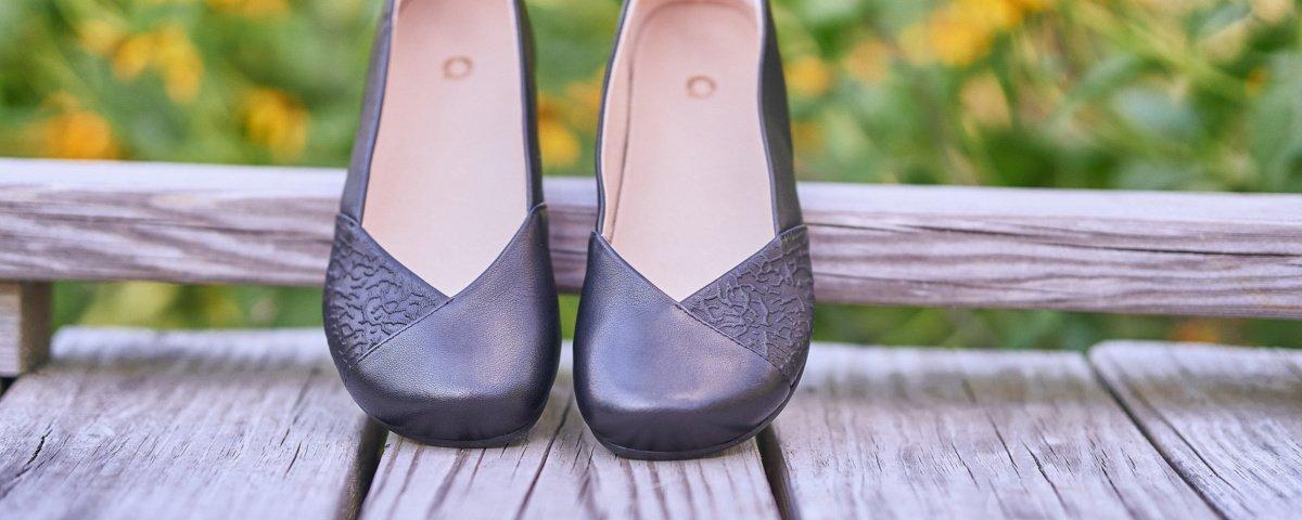 Xero Shoes Phoenix Black Leather nahast baleriinad