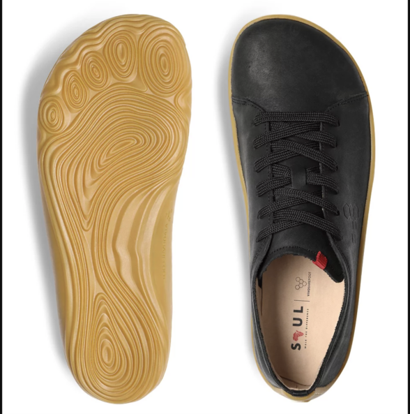 Vivobarefoot Addis Men Black Barefoot shoes