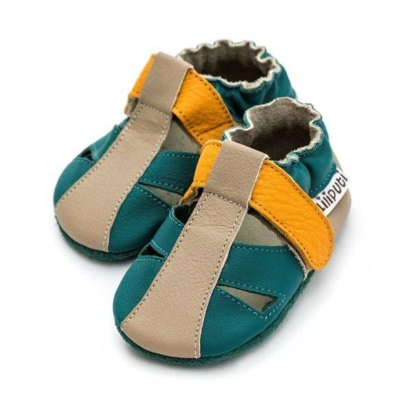 Liliputi Zulu nahast sandalaid väikelastele