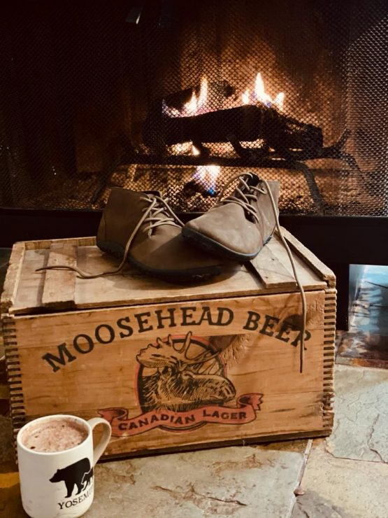 Freet Richmond Brown leather barefoot boots