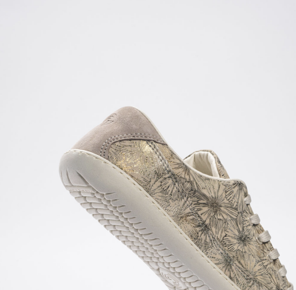 Groundies-Amsterdam-Taupe barefoot sneakers