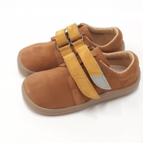 beda caramel laether sneakers for kids