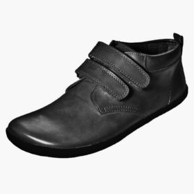 Sole Runner Eris black leather boots