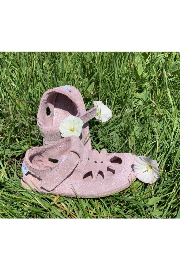 Baby Bare Summer Sparkle pink children sandals