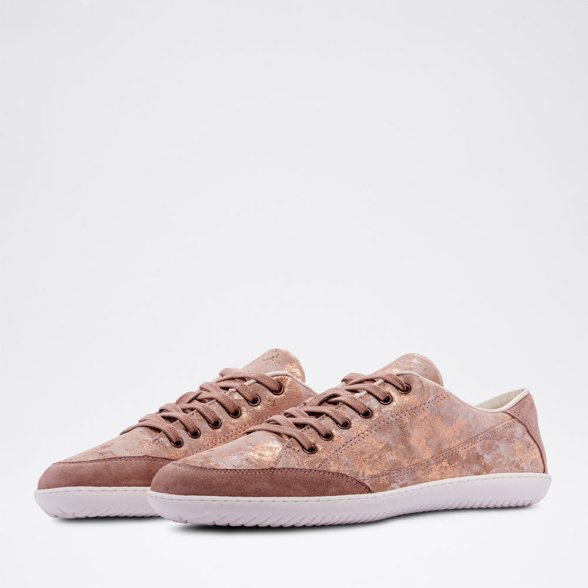 Groundies Amsterdam Rose barefoot sneakers