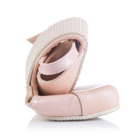 Shapen POPPY II Nude barefoot sandals
