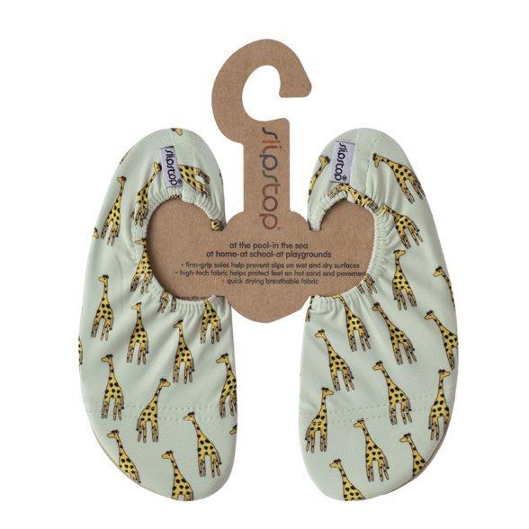 SlipStop Giraffe slippers for kids