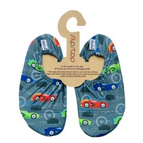 SlipStop Sportscar slippers for kids