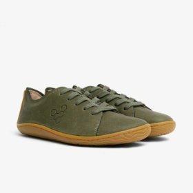 vivobarefoot addis botanical green womens barefoot shoes