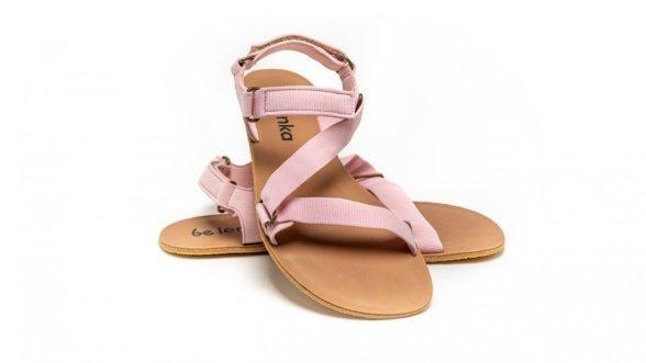 Be Lenka Flexi Pink barefoot sandals