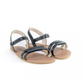 Be Lenka Summer Black barefoot sandals