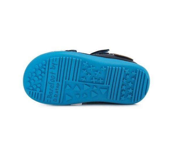 D.D.Step Royal Blue barefoot sandals