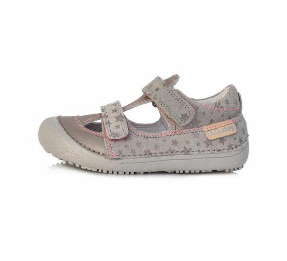 D.D.Step Grey barefoot sandals