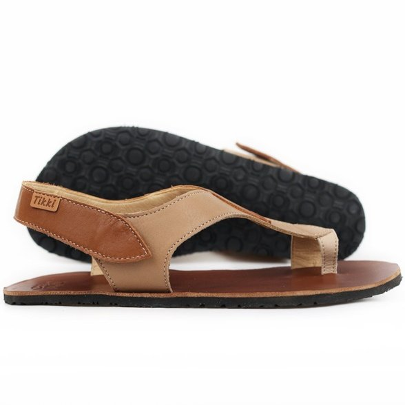 Tikki Soul Caramel barefoot sandals