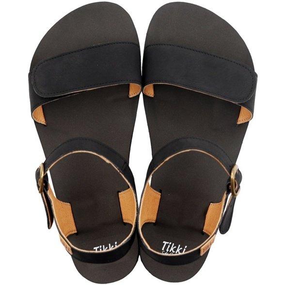 Tikki Vibe Vegan Onyx barefoot sandals