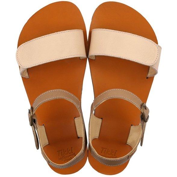 tikki VIBE Nude Cappuccino barefoot sandals
