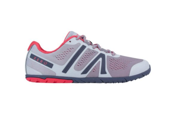 Xero shoes silver Blush barefoot shoes