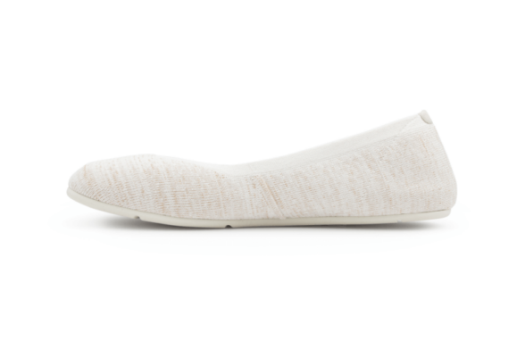 Xero Shoes Knit Red Womens barefoot ballerinas