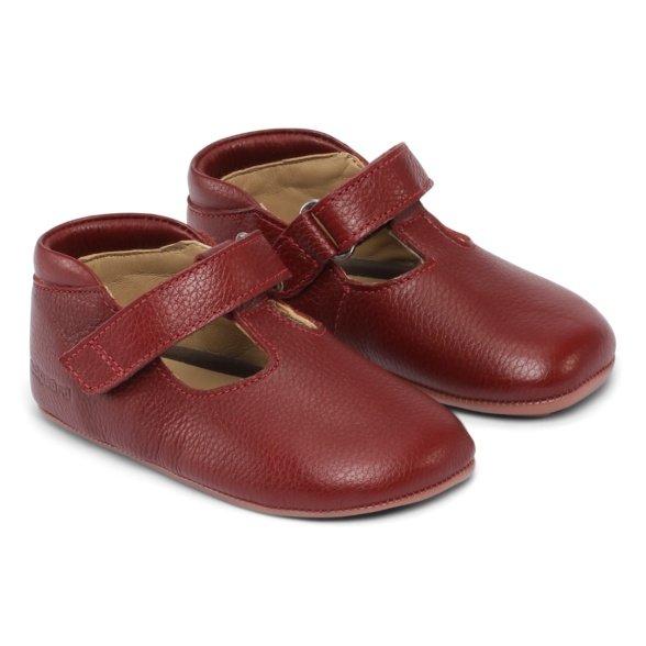 bundgaard mary dark red laste barefoot jalatsid