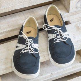 peerko street Navy barefoot sneakers