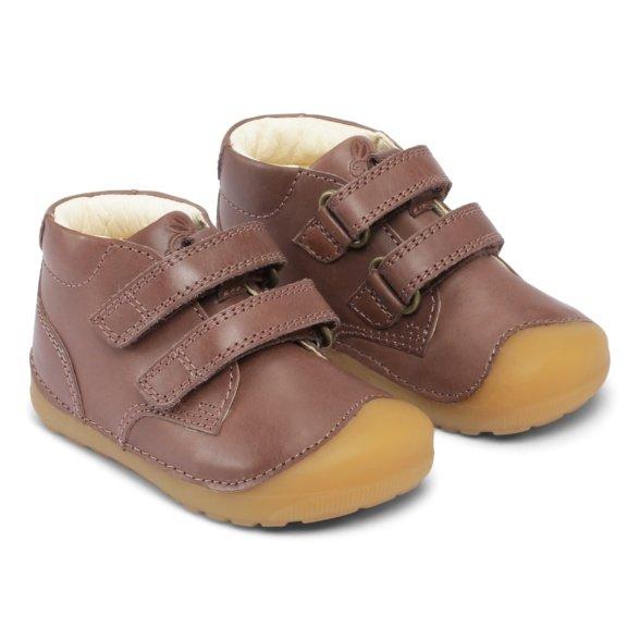 Bundgaard Petit Velcro Brown kids' shoes