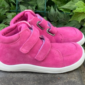 Baby Bare FEBO Fall Fuchsia boots for kids