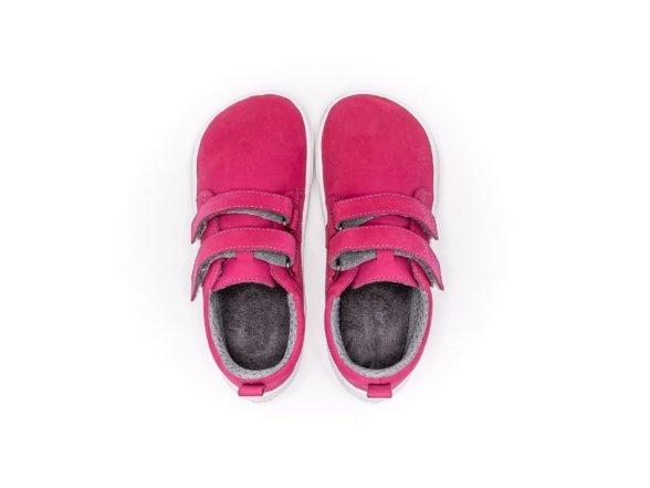 be lenka jolly dark pink barefoot shoes for children