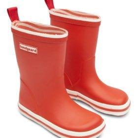 Bundgaard Classic Rubber Boot Blood Orange laste kummikud