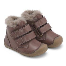 Bundgaard Petit Mid Lamb Brown winter boots for kids