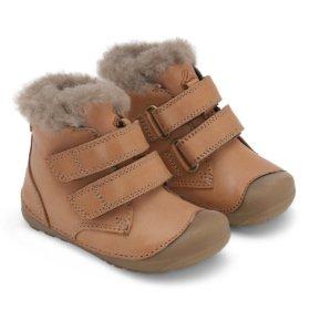 Bundgaard Petit Mid Lamb Caramel winter boots for kids