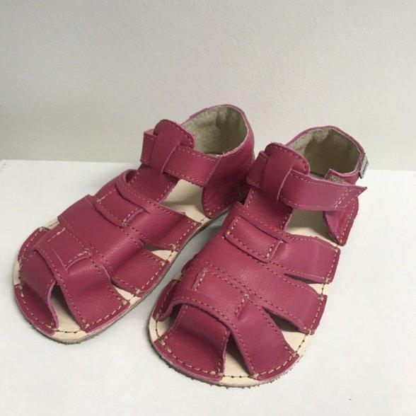 Ok Bare kids sandals dark pink